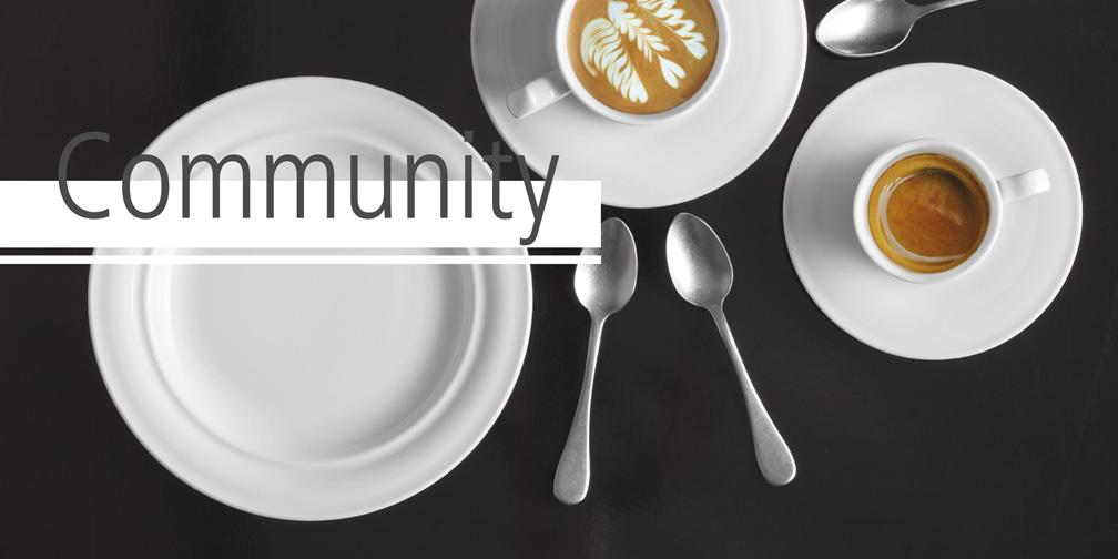 Porzellanserie Community von Seltmann Weiden