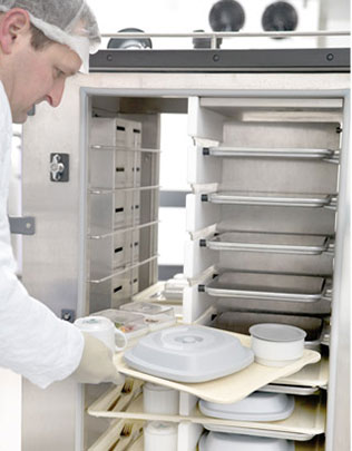 Aktive Tablettsystem von Seltmann Weiden - Kontaktwärme