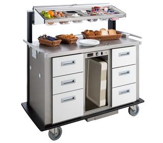 Großgebinde Frühstückswagen
